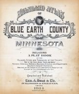 Title Page, Blue Earth County 1914